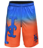 New York Mets Shorts - Gradient Big Logo Training Shorts