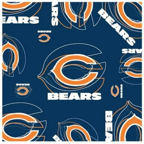 Chicago Bears Scarf -  Silky Style Scarf