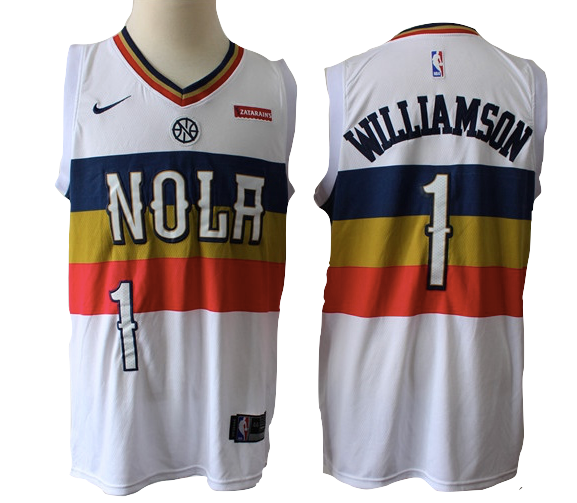 New Orleans Pelicans Jersey Zion Williamson