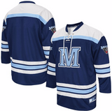 Maine Black Bears Jersey - Custom Blue Hockey Jersey - Any Name and Number