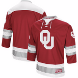 Oklahoma Sooners Jersey - Custom Logo Hockey Style Jersey - Any Name and Number
