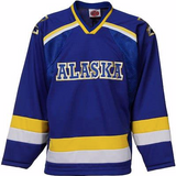 Alaska Nanooks Jersey - Hockey Style Custom Jersey - Any Name and Number