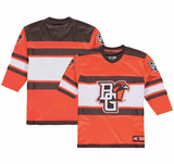 Bowling Green State University Jersey - Custom Open Net Hockey Jersey - Any Name and Number