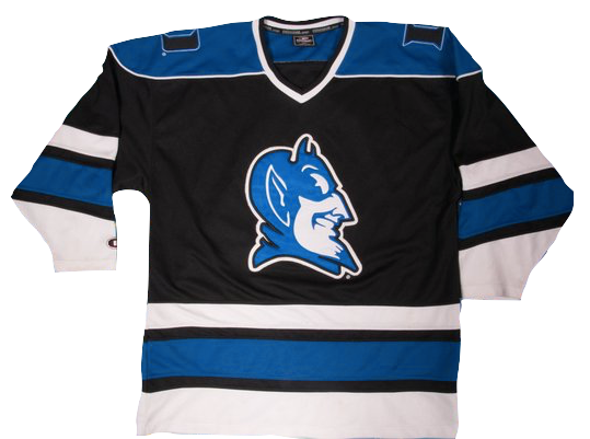 new style 22ff9 fa33d Duke Blue Devils Jersey - Custom Hockey Style Jersey - Any Name and Number