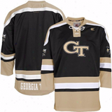 Georgia Tech Yellow Jackets Jersey - Hockey Style Custom Jersey - Any Name and Number