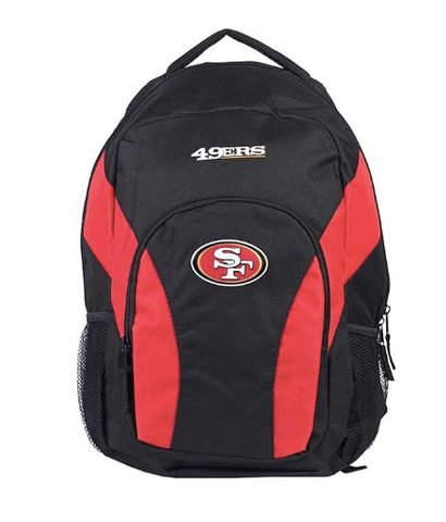 San Francisco 49ers Backpack - Draft Day Backpack