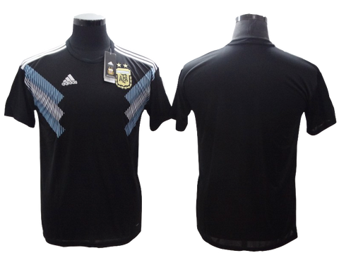 Argentina 2018 FIFA World Cup Jersey - Custom Any Name or Number Black Jersey