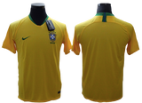 Brazil 2018 FIFA World Cup Jersey - Custom Any Name or Number Yellow Jersey