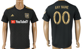 Los Angeles FC Jersey - Custom Any Name or Number Black Jersey