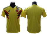 Columbia 2018 FIFA World Cup Jersey - Custom Any Name or Number Yellow Jersey