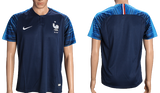France 2018 FIFA World Cup Jersey - Custom Any Name or Number Blue Jersey