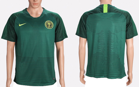 Nigeria 2018 FIFA World Cup Jersey - Custom Any Name or Number Dark Green Jersey