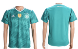 Germany 2018 FIFA World Cup Jersey - Custom Any Name or Number Green Jersey