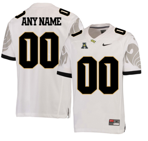 UCF Golden Knights Jersey - Custom White Jersey - Any Name and Number