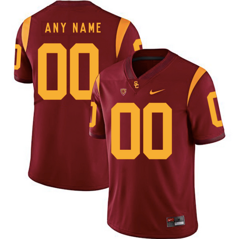 USC Trojans Jersey - Custom Cardinal Jersey - Any Name and Number