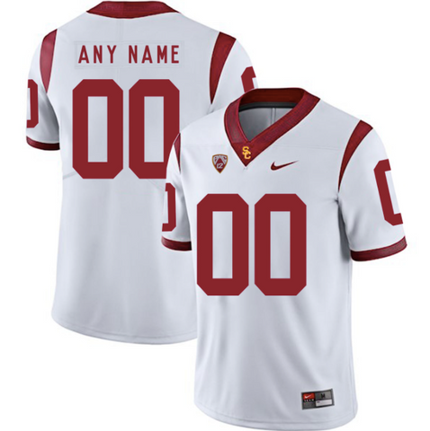 USC Trojans Jersey - Custom White Jersey - Any Name and Number