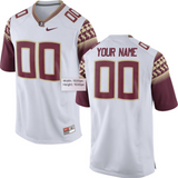 Florida State Seminoles Jersey - Custom White Jersey - Any Name and Number