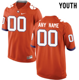 Clemson Tigers Jersey - Custom YOUTH Orange Jersey - Any Name and Number