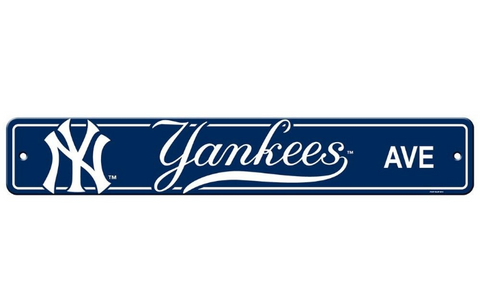 New York Yankees Sign - Street Sign