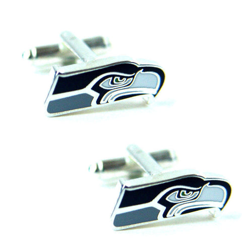 Seattle Seahawks Cuff Links -Logo