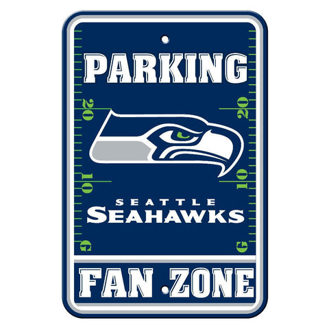 "Seattle Seahawks Sign - Parking Sign - 12"" x 18"""