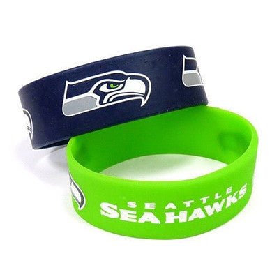 Seattle Seahawks Bracelet - Rubber Wrist Bands
