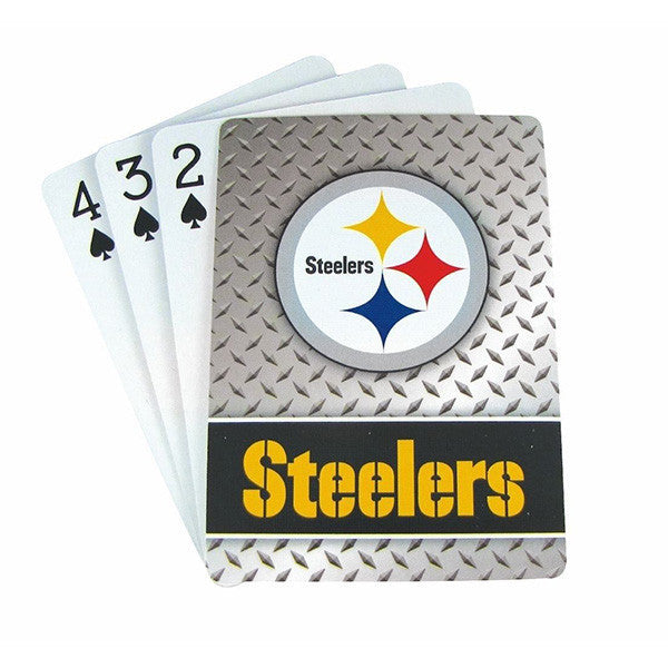 Pittsburgh Steelers Playing Cards -Diamond Plate