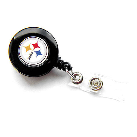 Pittsburgh Steelers Lanyard - Retractable Lanyard W/ Clip