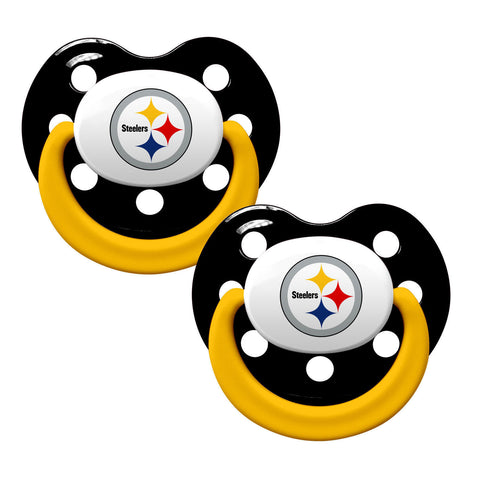 Pittsburgh Steelers Baby Pacifiers - Pack Of 2