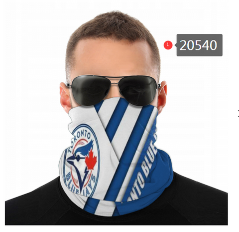 Toronto Blue Jays Face Mask - Bandana, Neck Gaiter, Reuseable, Washable
