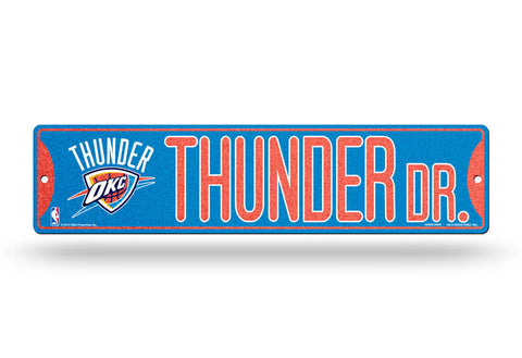 Oklahoma City Thunder Bling Street Sign