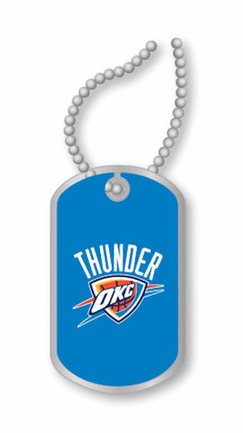 Oklahoma City Thunder Dog Tag Necklace