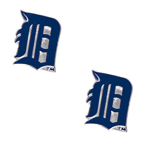 Detroit Tigers Earrings - Logo Stud Earrings