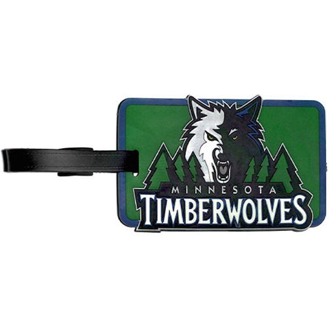 Minnesota Timberwolves Luggage Tag