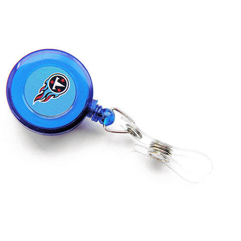 Tennessee Titans Retractable Lanyard W/ Clip