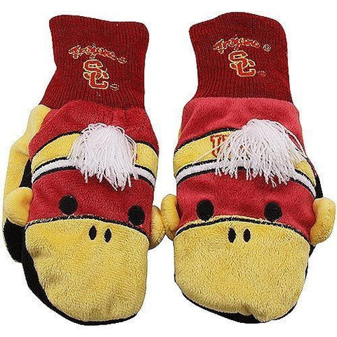 USC Trojans Insulated Children's Mascot Mittens