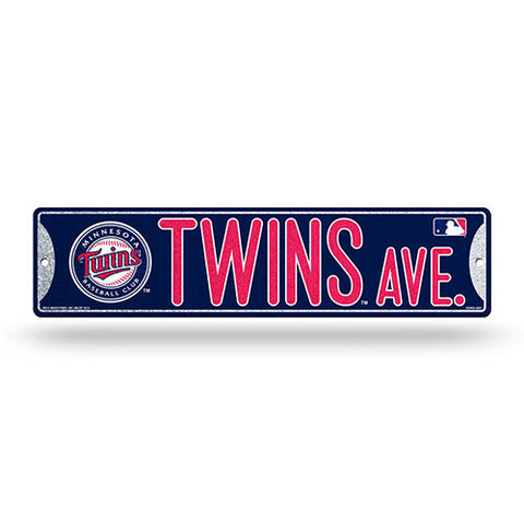 Minnesota Twins Bling Street Sign