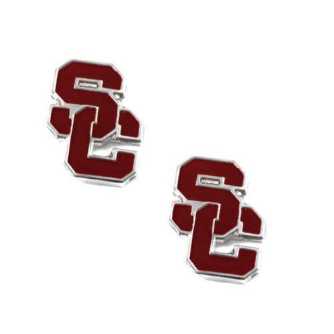USC Trojans earrings - post stud earrings