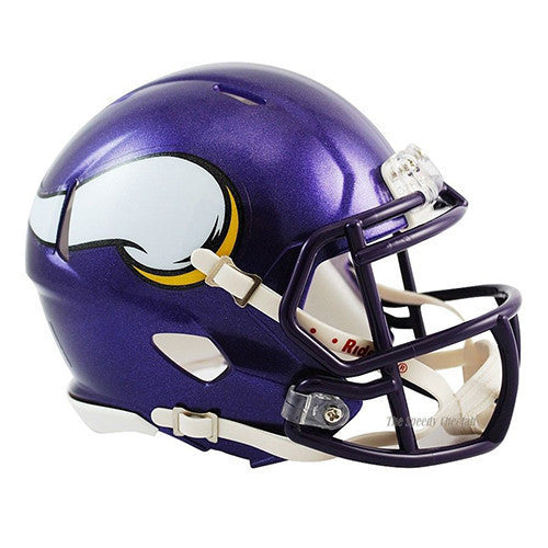 Minnesota Vikings Helmet - Riddell Speed Mini Helmet