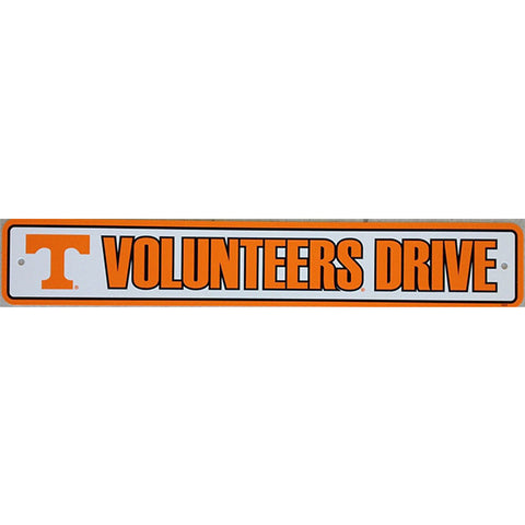 "Tennessee Volunteers Street Sign - 4""x24"""