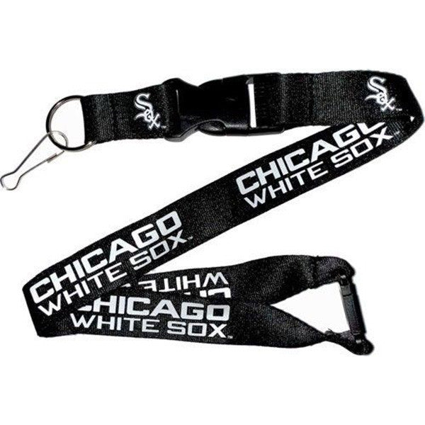 Chicago White Sox Lanyard - Detachable Keychain