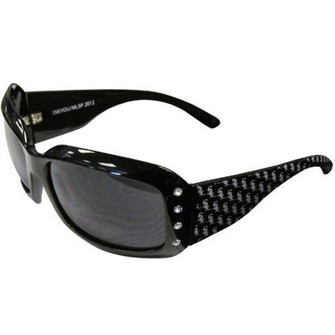 Chicago White Sox Sunglasses - Ladies Rhinestone Sunglasses