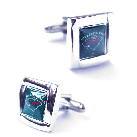 Minnesota Wild Square Cuff Links