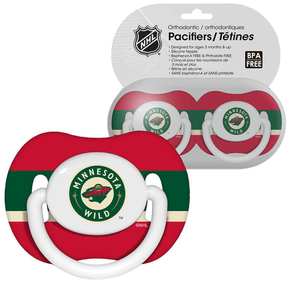 Minnesota Wild Baby Pacifiers - Pack Of 2