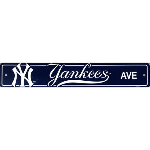 "New York Yankees Sign - Street Sign - 4""x24"""