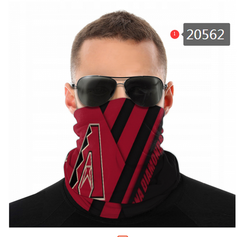 Arizona Diamondbacks Face Mask - Bandana Scarf, Reuseable, Washable