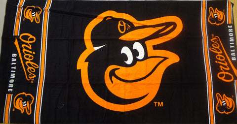 Baltimore Orioles Beach Towel