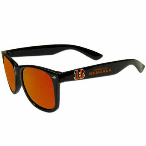 Cincinnati Bengals Sunglasses -  Team Mirrored Sunglasses