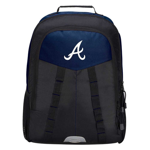 "Atlanta Braves Backpack - ""Scorcher"" Sports Backpack"