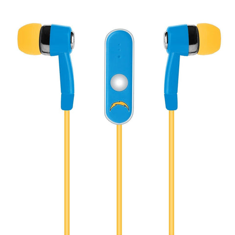 Los Angeles Chargers Ear Buds With Microphone